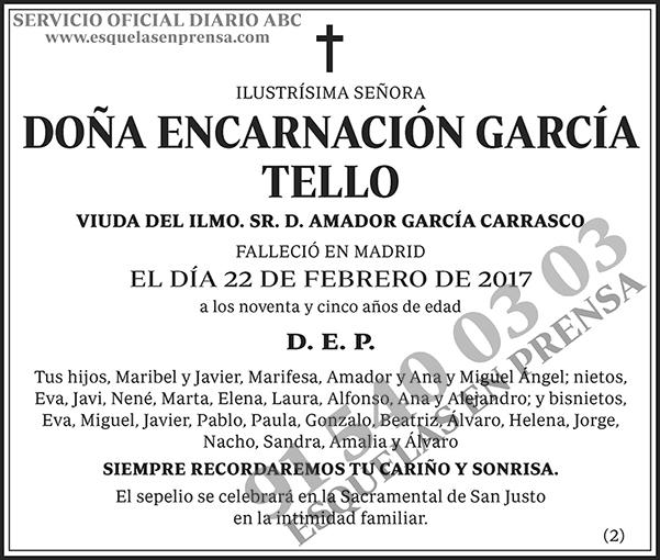 Encarnación García Tello